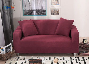 Chiny Slipcover Recliner Pokrowce na sofy Dark Red Protector Two Seater Loose Design fabryka